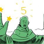 Massagestoel-beoordeeld-met-5-sterren