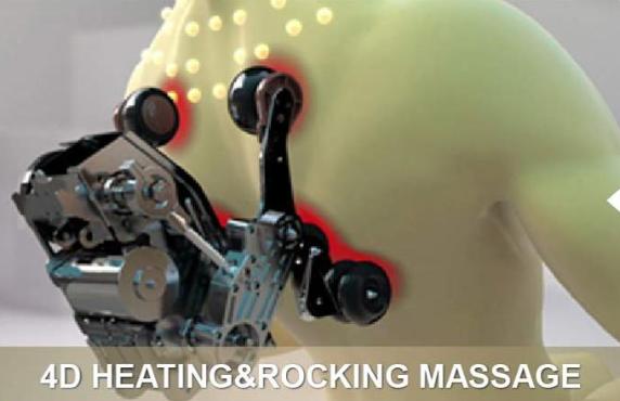 Massagestoel-Cervo-rugverwarming